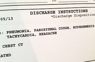 Having pneumonia: my story - A young mom's blog post about getting through pneumonia
