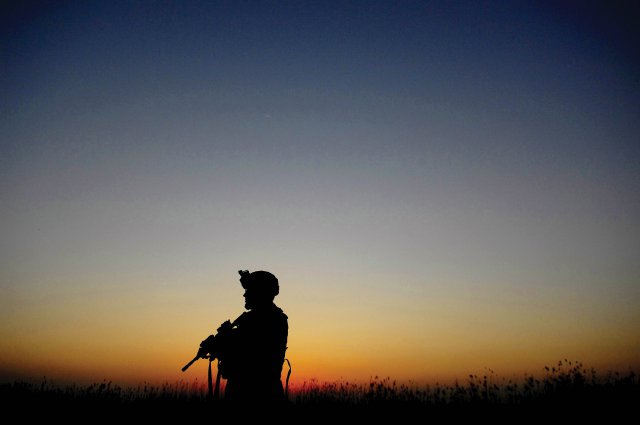 Leaving the battlefield: A soldier shares a story of PTSD
