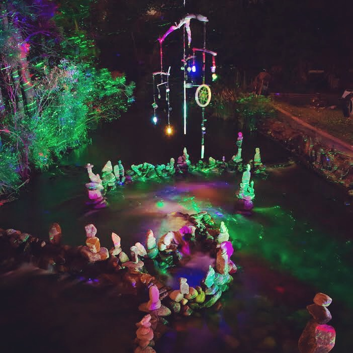 At Night, Our Property Becomes a Fairy Land