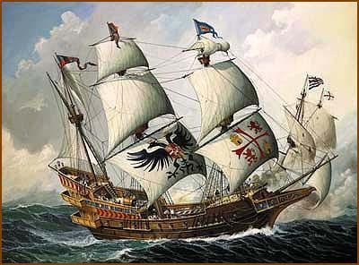 Portuguese Ship 15th Century
