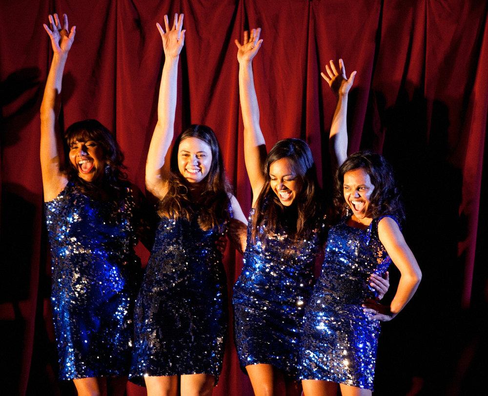 The Sapphires_Gail (Deborah Mailman), Kay (Shari Sebbens), Julie (Jessica Mauboy) and Cynthia (Miranda Tapsell) copy.jpg
