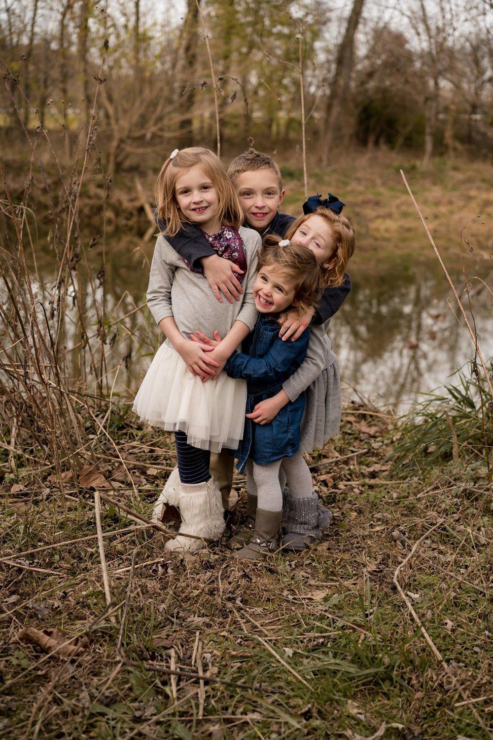 children family field photo louisville photographer