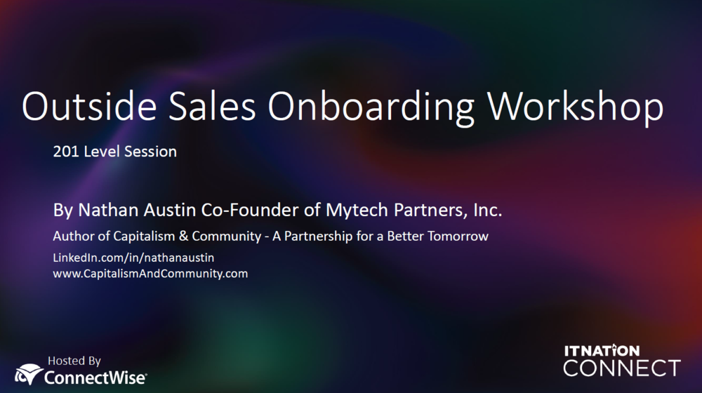 Sales Onboarding Documents -