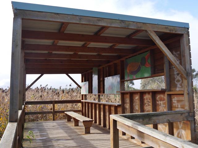 The Birdhide at Edithvale Wetlands