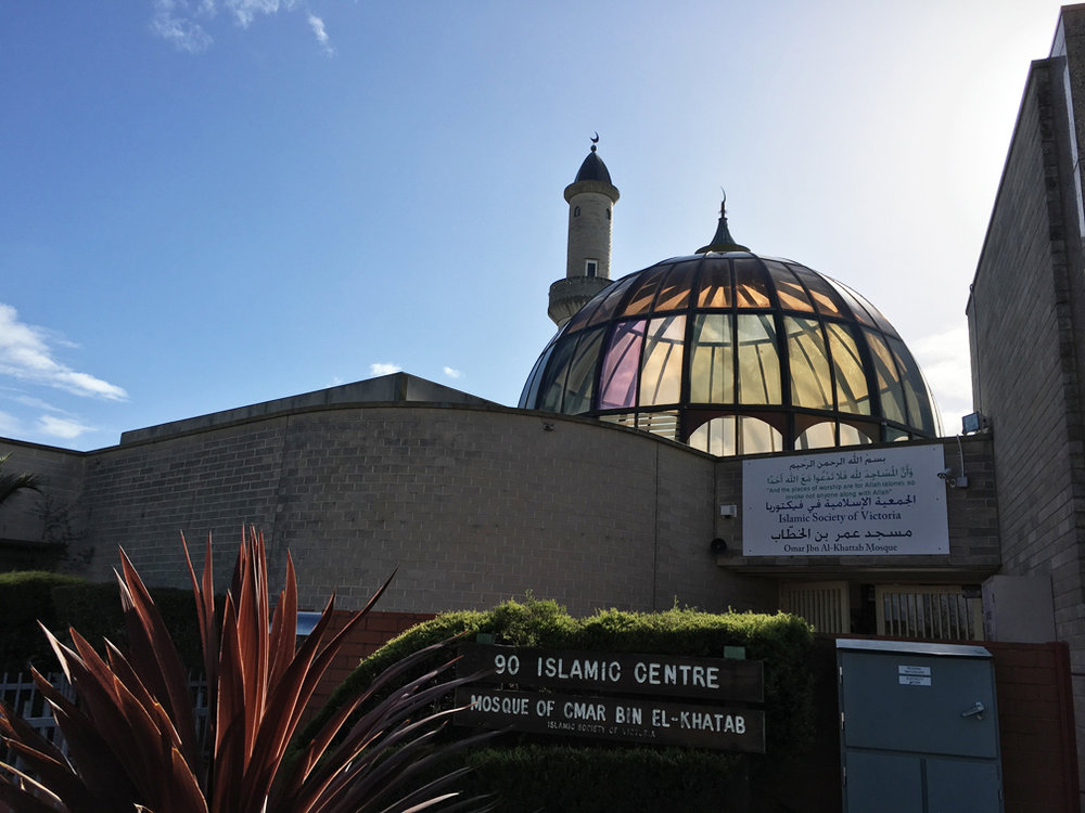The Preston Mosque in Cramer Street
