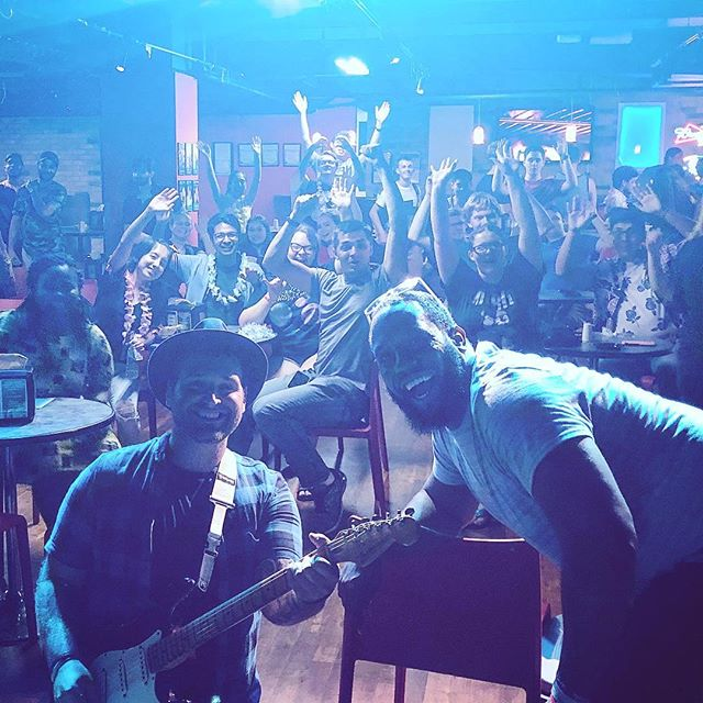 #Chicago @illinoisinstituteoftechnology @rodneyfloodmusic and I had a BLAST with you tonight! Thank you all so much!! 💙🦏💙