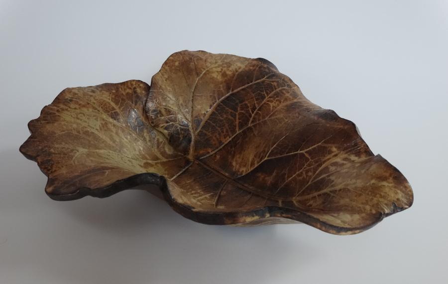 Pottery Leaf - Janet McDougall.JPG