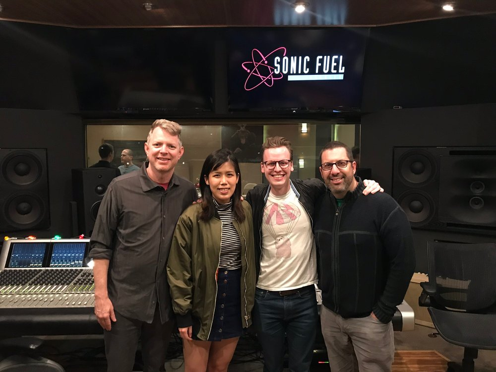 @ Sonic Fuel Studio with composer Tim Wynn, Casey Kolb and Christopher Lennertz