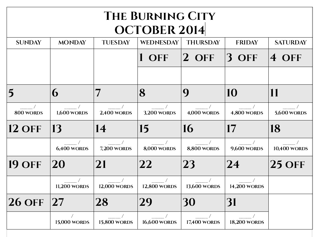 writing-calendar