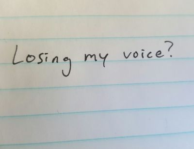 losing-my-voice