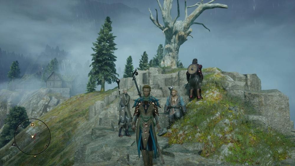 Group photo! Everybody gather up—damn it, Blackwall!