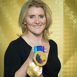 HAYLEY WICKENHEISER - Hayley hardly needs an introduction. Long regarded as the best female hockey player of all time, Hayley's excellence is demonstrated on and off the ice. Not only a multiple Olympic medalist, Hayley has served on the International Olympic Committee and the Canadian Olympic Committee. She is a recipient of the Order of Canada, numberous honorary degrees, and countless other accolades. Hayley has an enormous and compassionate heart helping victims of flood, fire, poverty and sickness. She is an absolutely exemplary athlete and human being.