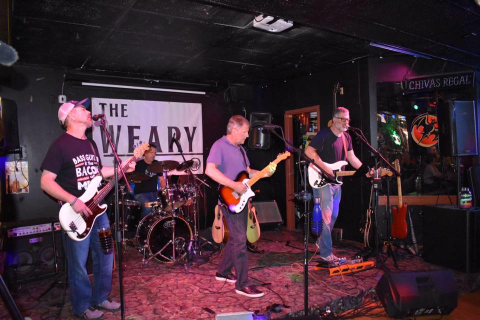 The Weary (8:15-9:15 Second Stage) - The Weary is an original Seattle area rock band with unique tunes that span rock, blues and alt-country genres.