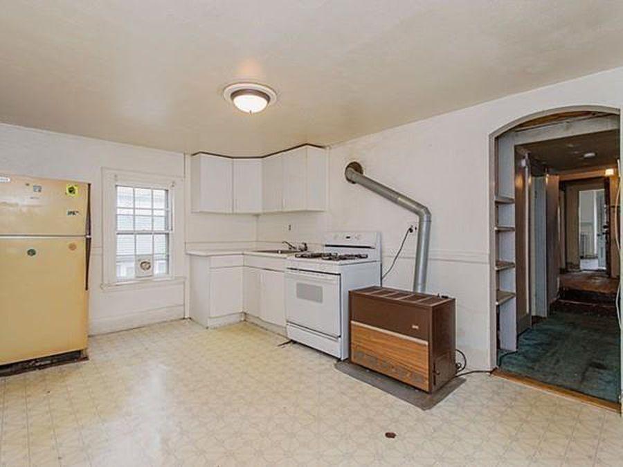 Second floor kitchen before
