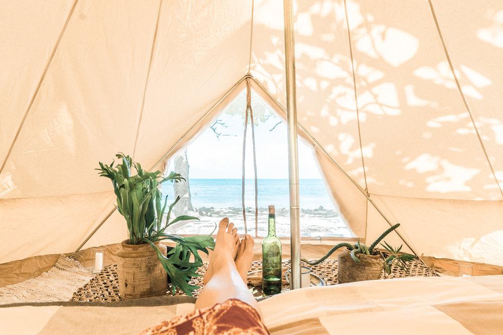 Kin Travel Haiti Glamping Tent