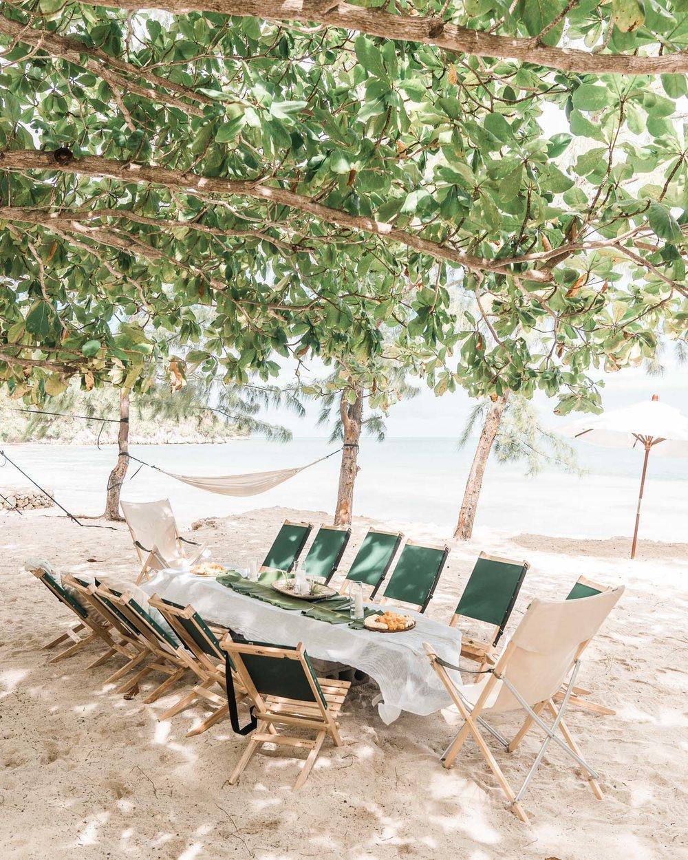 Kin Travel Haiti Glamping Breakfast