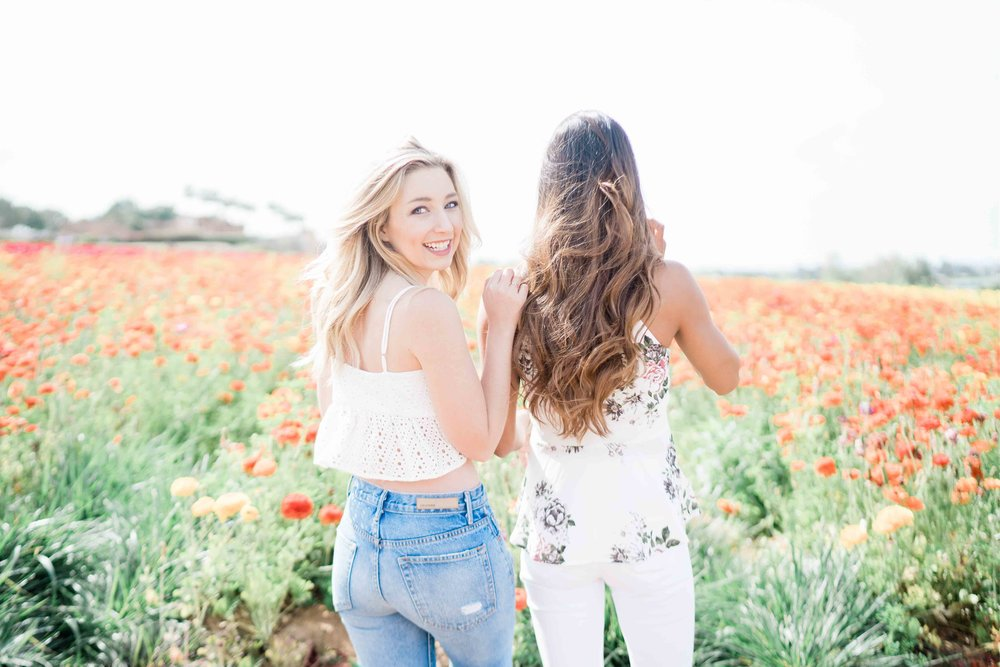 Carlsbad Flower Field Photos