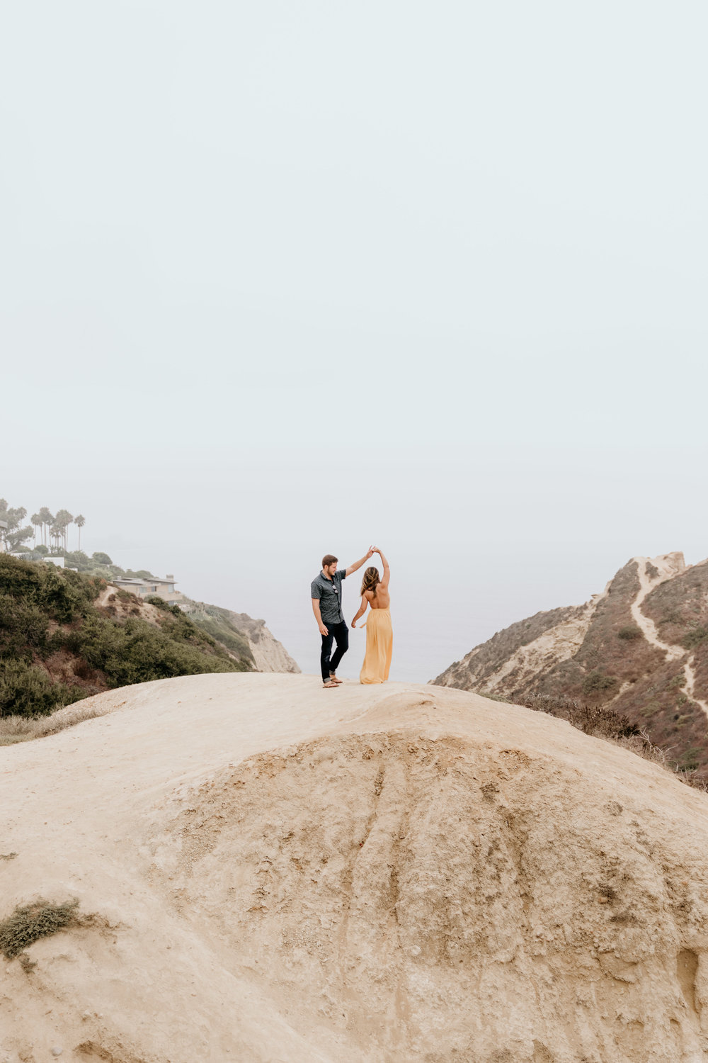 La Jolla Ho Chi Minh Trail San Diego Couples Photography