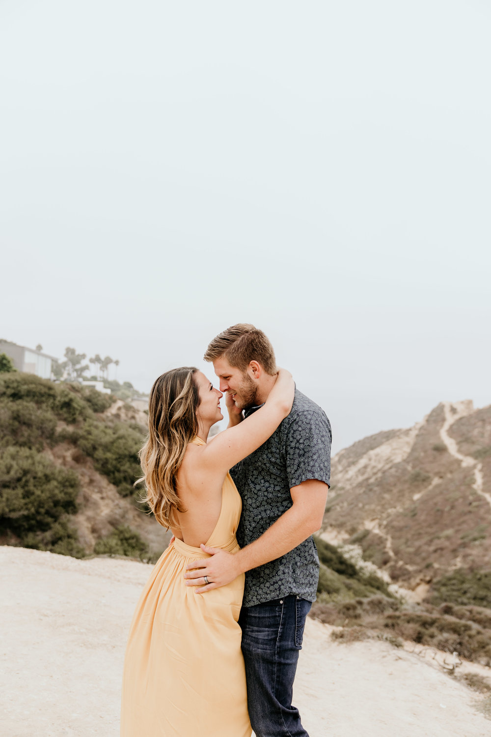 La Jolla Ho Chi Mihn Trail San Diego Couples Photography