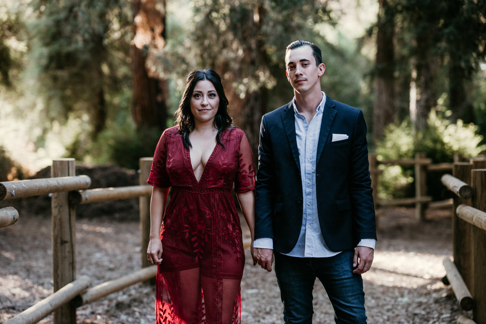Carbon Canyon Engagement Photography