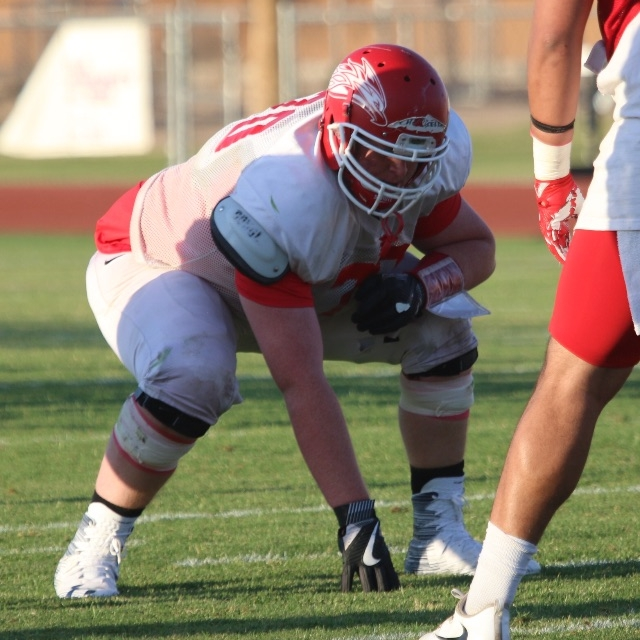 Garron Chatfield - OL - varsity 2015 - 2017Mesa Community College