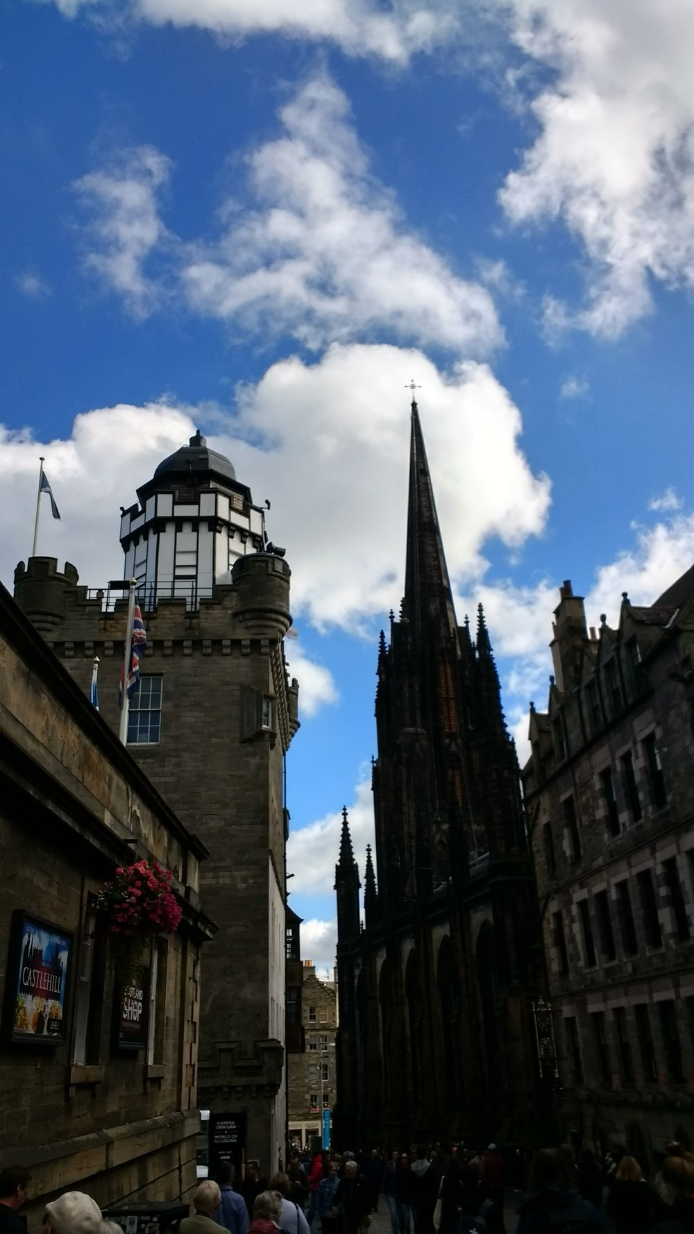 Edinburgh. It's just that beautiful.