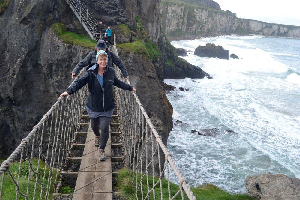 Carrick-an-Rede bridge, Northern Ireland