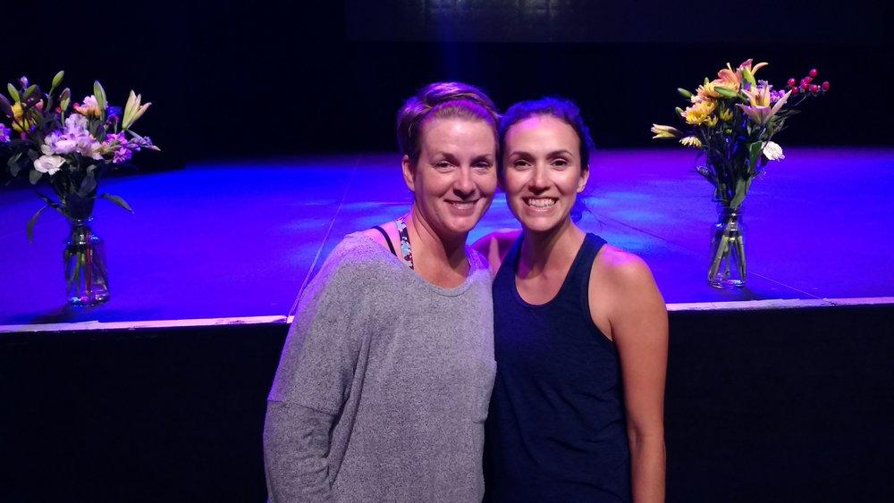 Me and Adriene, Dallas, Oct 2017