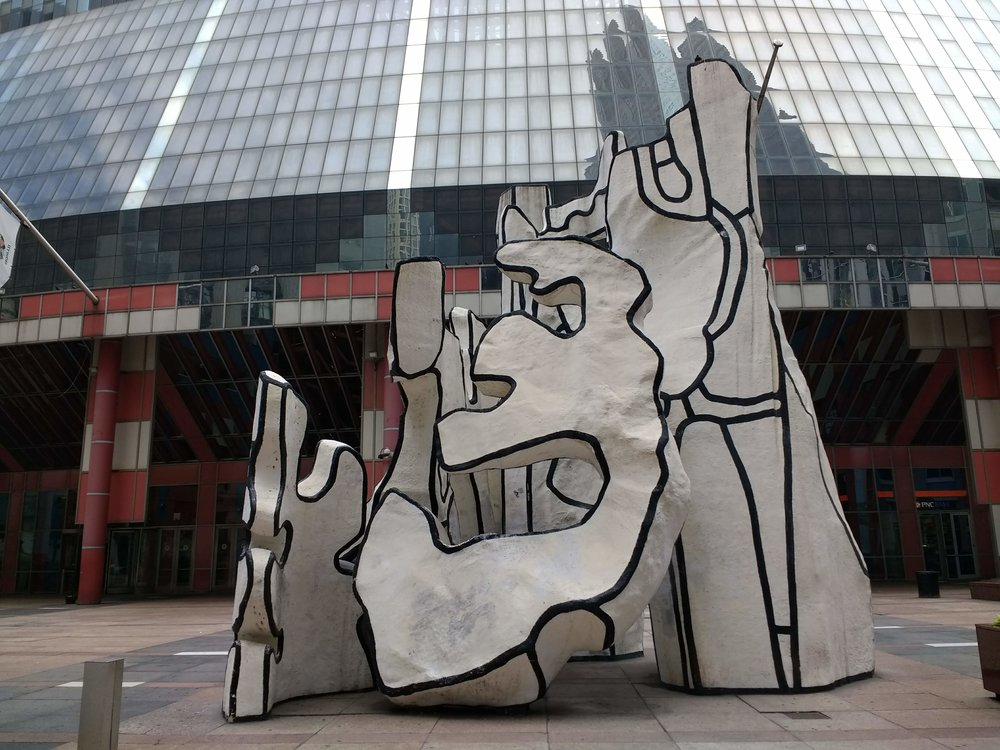 Monument with Standing Beast, Jean Dubuffet