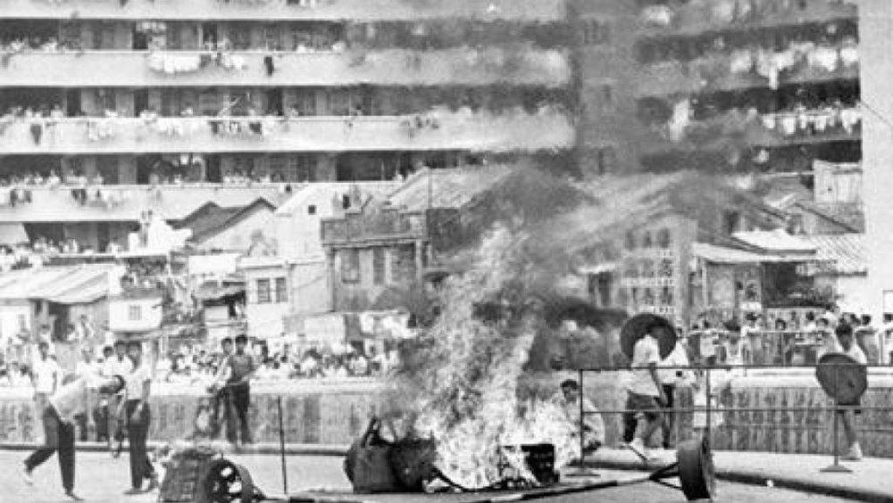 六七暴動的資料圖片(來源:網絡)