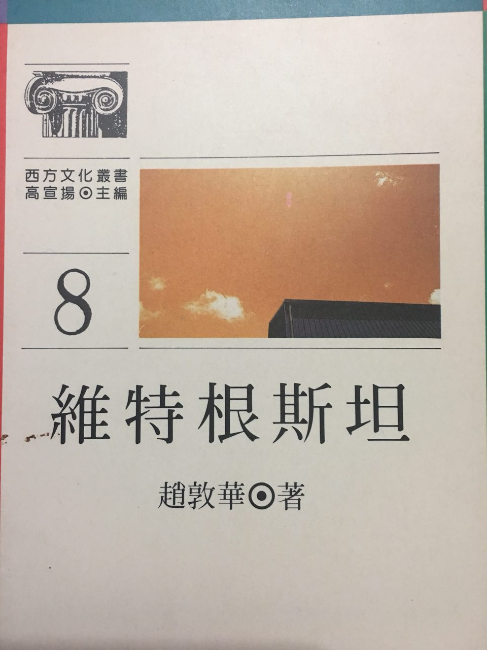 趙敦華:《維根斯坦》書影。