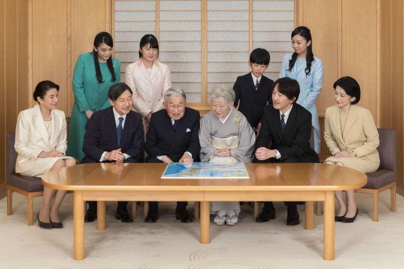 日本天皇全家福