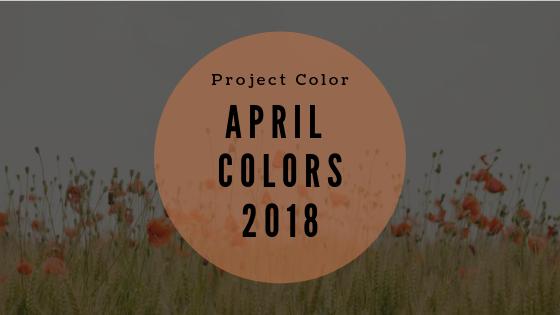 april colors 2018 project color