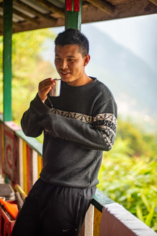 Latup Tshering Bhutia from Khecheopalri
