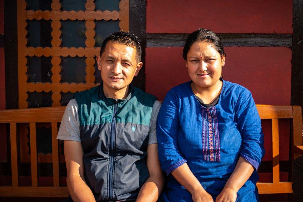 Chettri Family from Martam
