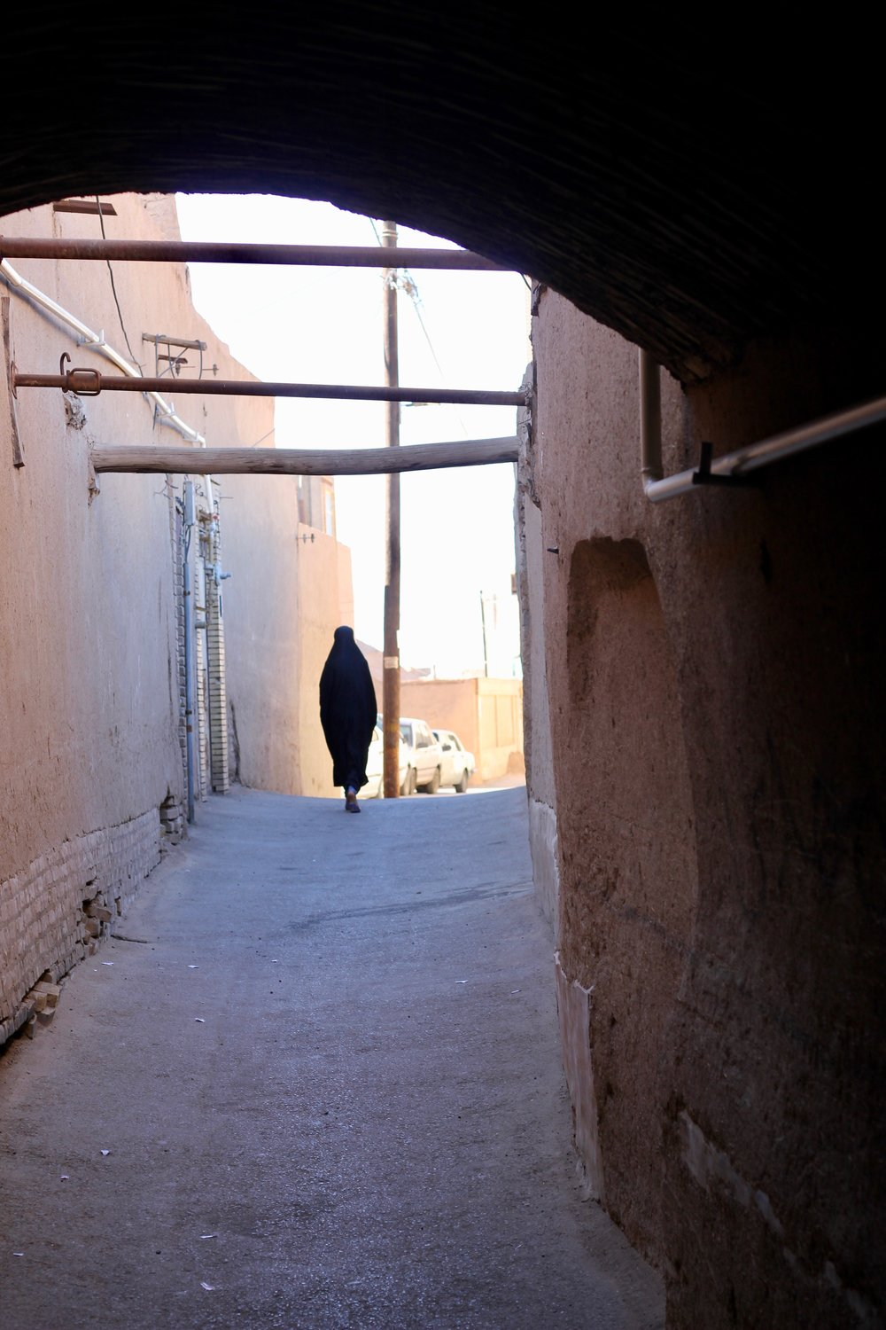 Woman in Yazd, Iran
