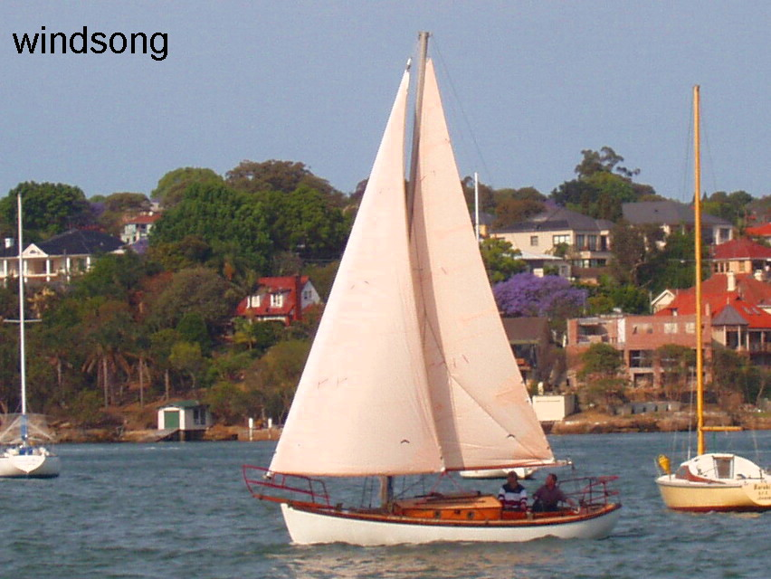 Windsong - Classic timer boat