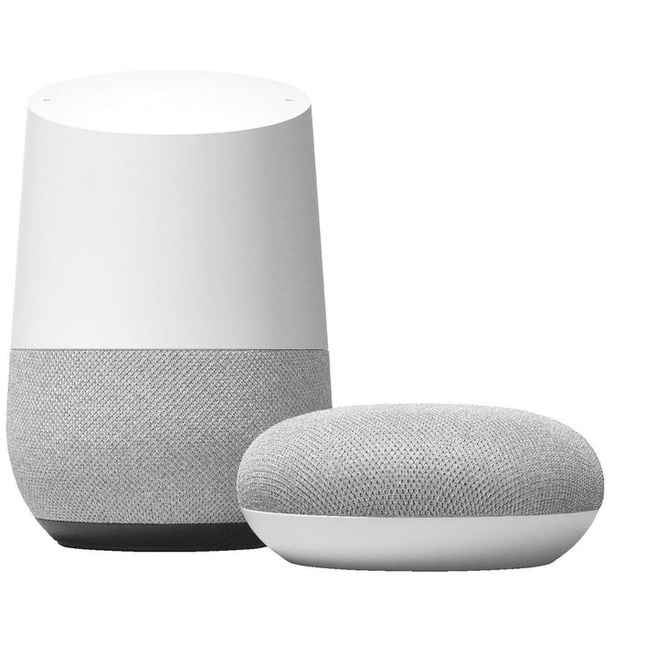 Google Home - Control your world with your voice.Powered by the Google Assistant. Ask it questions, tell it to do things.Want the latest weather, traffic, finance, sports and more? Simply ask.Get personalised help with your schedule, reminders, calls, news and more, whenever Google Home recognises your voice.