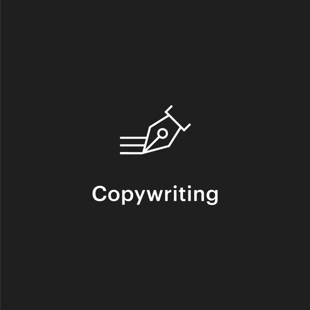 Copy may be writing, but copywriting isn't just about words. It's about playing with ideas. Whether it's the words its the words that get website visitors to take action or the inauguration speech for a president, copywriters create meaning, deliver a message, and call an audience to action.