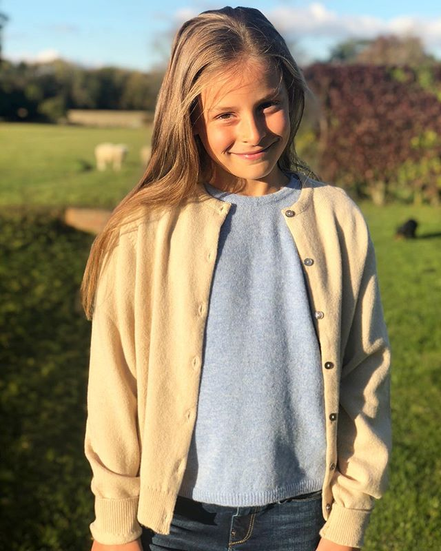 How gorgeous are these 100% super soft lambs wool jumper and cardigan from @bonniechildren They come in all sorts of colours and for boys too and even better they are all machine washable!! Minty is wearing the Ice Blue Girls tank and the Oatmeal cardigan. 🐑💕 . . . #childrenswear #kidsfashion  #kidswear #countrygirl #daughter #instakids #jumper #cardigan #winter #fashionkids #kidsofinstagram #kidstyle #girlsfashion #kidsclothing #supportsmallbusiness #smile #kidslookbook #gift #mygirl
