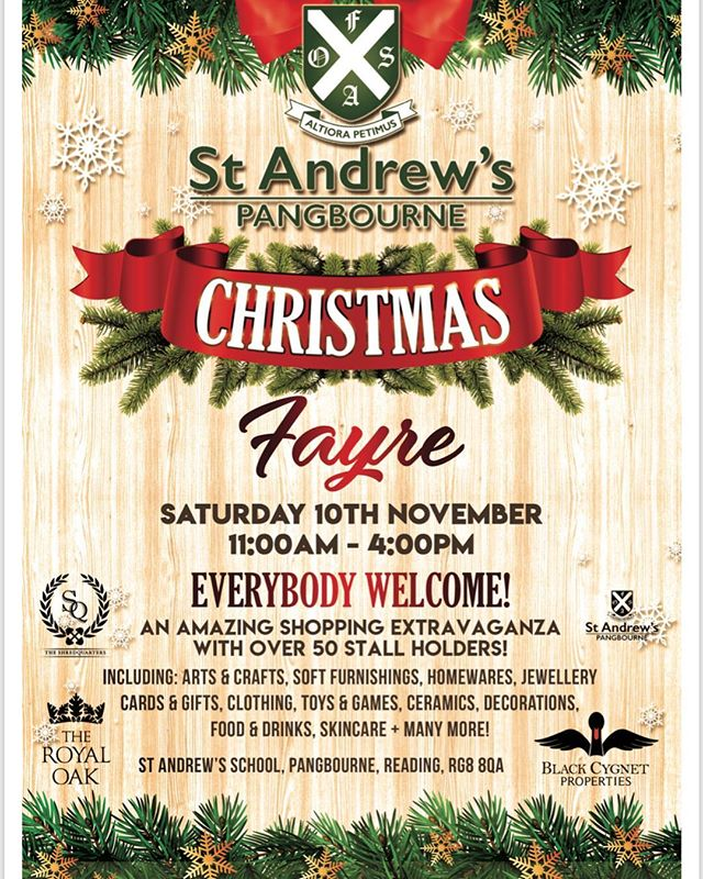This wonderful fair is on next Saturday 11th Nov 11am-4pm . Over 50 stalls. Hope to see you there xx . . . . #fair #christmas #gifts #presents #present #ideas #friends #family #giftideas