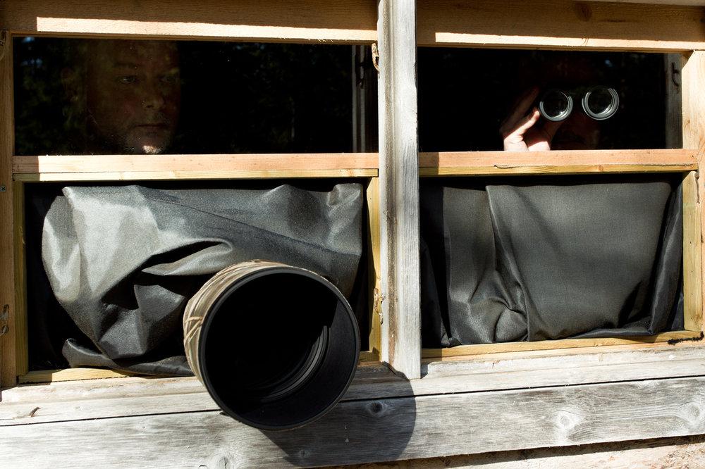 Photo cabin. Photo: Sara Wennerqvist