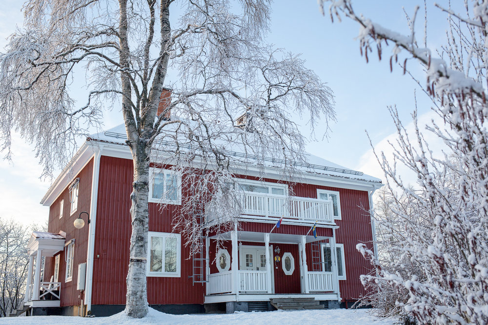 Copy of Jokkmokk guesthouse. Photo: Maria Klang