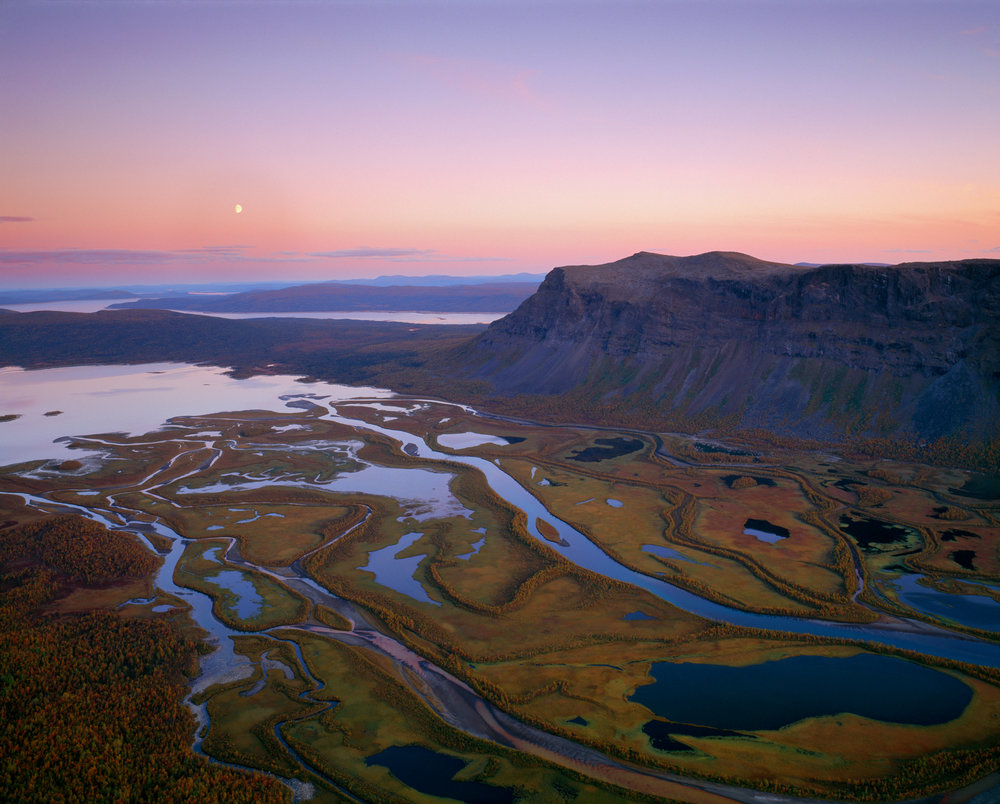 Rapadalen in Sarek National Park. Photo: Anders Ekholm