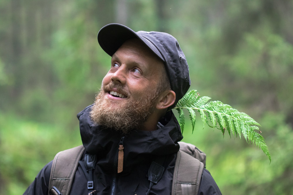 This is Marcus Eldh, founder and owner of WildSweden. Photo: Simon Green