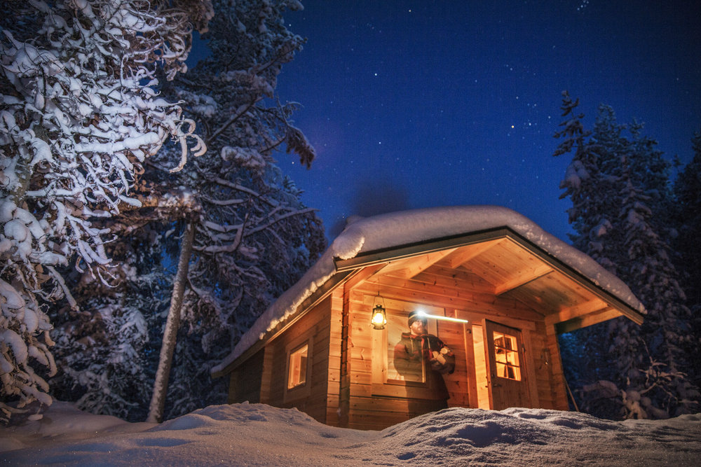 20190205 Lapland, Zweden. Lapland retreat