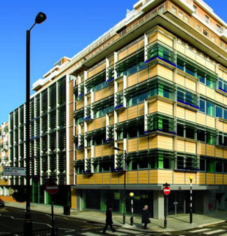 University of Westminster - 12,000 m2 fit out for the University of Westminster to provide administrative offices and seminar teaching spaces. The building services included flexible raised floor distribution, active chilled beams and VRF system. Robinson associates designed all services for the fit-out.