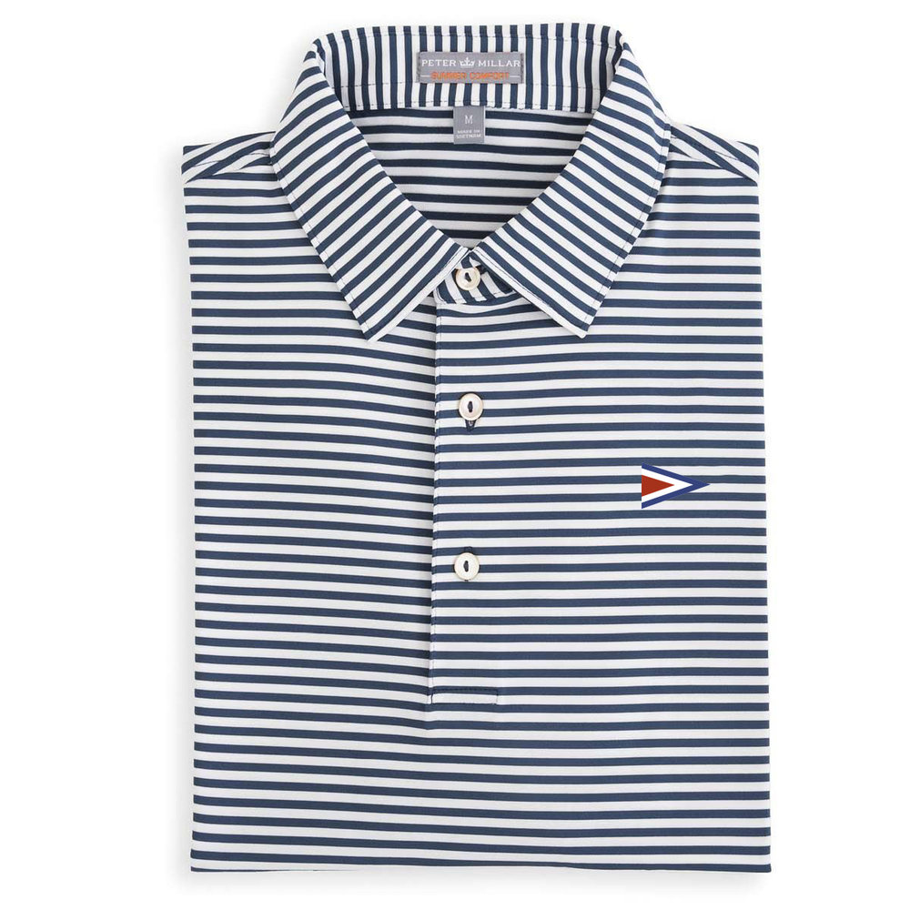 5d34dd64158 Peter Millar Competition Stripe Jersey Polo