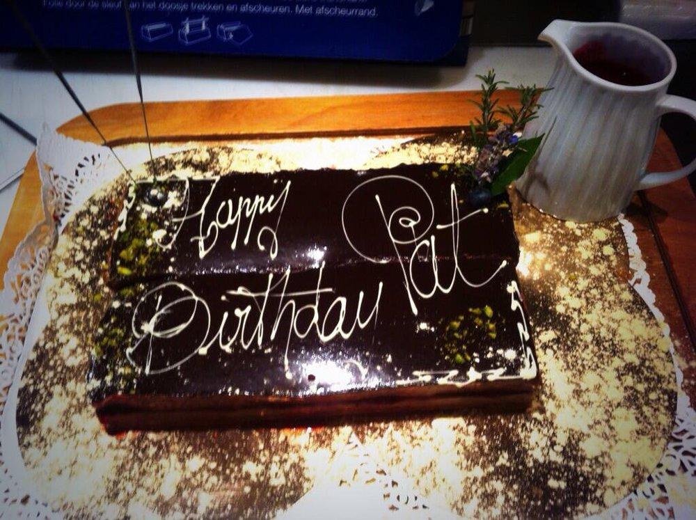 La Verriere birthday cake