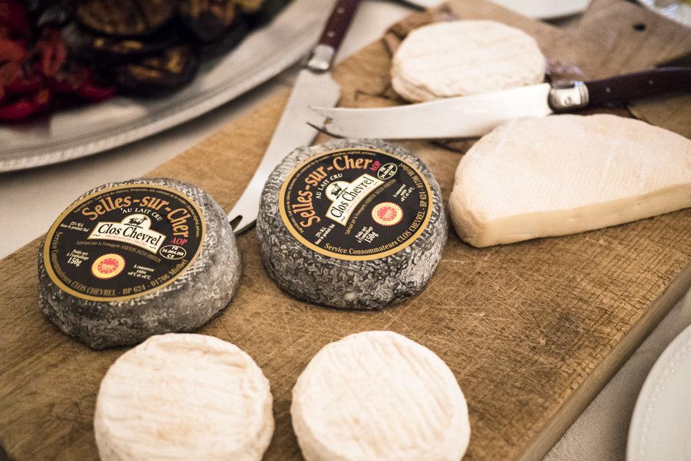 La Verriere food cheese